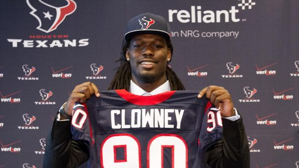 RADIO: Clowney relieved the draft process is finally over
