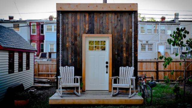The Ultimate Love Shack? Living Large Inside 140 Square Feet