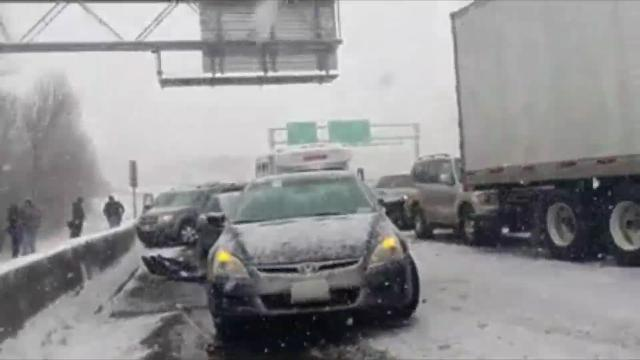 61-Car Pileup Shuts Down Minnesota Highway