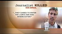 Email From ISIS To James Foley's Parents Released