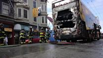 Heroes Spring Into Action After Tour Bus Blaze in San Francisco;