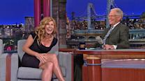 "David Letterman - Connie Britton on a ""Friday Night Lights"" Movie"