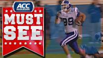 Duke's Braxton Deaver 47-Yard Touchdown | ACC Must See Moment
