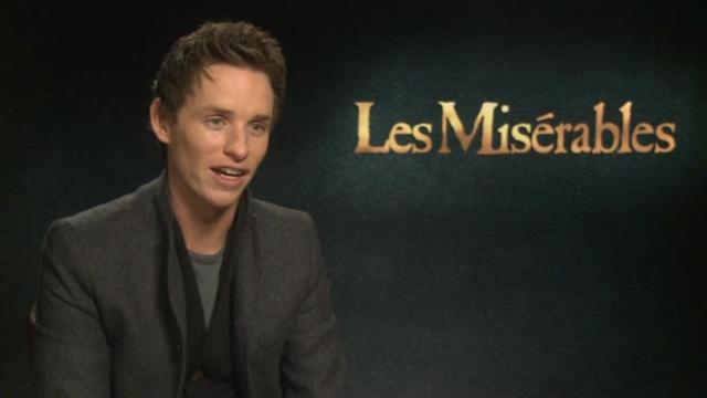 Eddie Redmayne loves to get dirty with a ham at Christmas time!