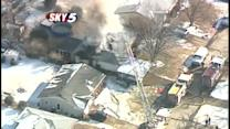 Family loses pets as fire consumes home