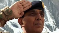 Pakistan's army chief pays tribute to soldiers buried in avalanche last year