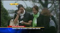 Funerals begin for victims in Sandy Hook shooting