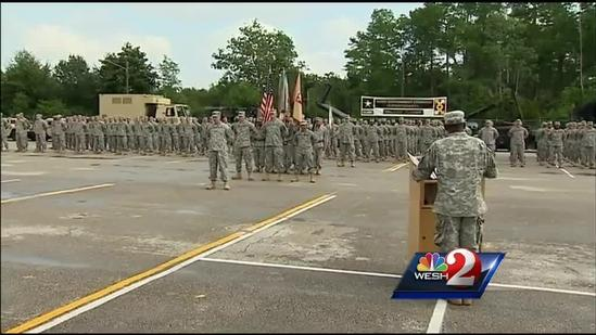 Troops leave for Afghanistan, Kuwait