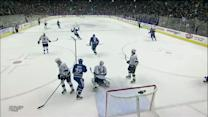 Christopher Tanev blasts one from blue line