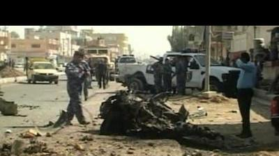 Deadly blasts hit Iraq