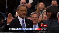 Inauguration Day 2013: President Obama sworn in, delivers address