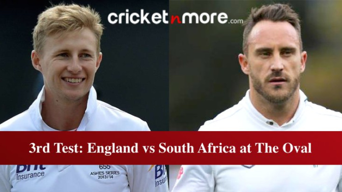 3rd Test, Preview: England vs South Africa at The Oval