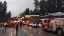 Amtrak Derailment Over Washington State Highway Kills Multiple People