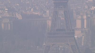 Raw: Free Public Transport to Fight France Smog