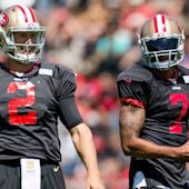 Colin Kaepernick, not Blaine Gabbert, will play Thursday; no reason for fantasy owners to draft either player