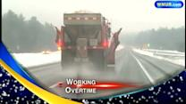 Plow drivers working serious overtime