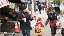Raw: Trick-or-Treating in NYC after Sandy