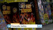 Using Fireworks Safely During California's Drought