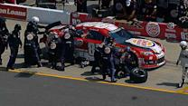 Reutimann into the wall at MIS