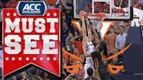 UVA's Mike Tobey Throws Down Huge Dunk | ACC Must See Moment