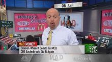 Cramer: These 3 Dow components explain why the market isn't all that expensive