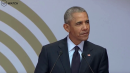 Obamaspeaks about 'strange and uncertain times'