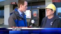 Live interview with Fire Marshal after famous restaurant catches fire