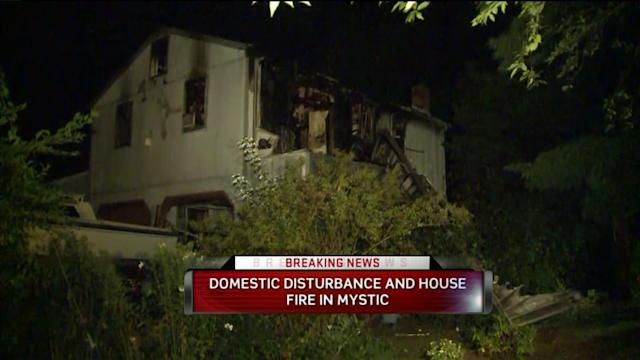 Domestic Dispute And Fire Under Investigation In Mystic