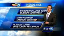 Video-Cast: Weekend storm details