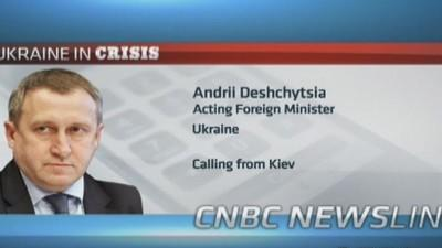 More sanctions if Russia does not stop: Ukraine minister