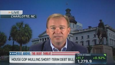 Last offer was mandate, heard nothing: Rep. Mulvaney
