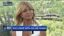 Goldie Hawn: How to be 'mindful'