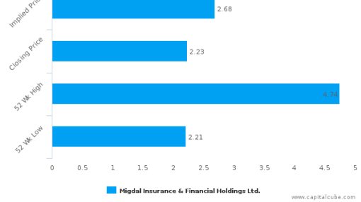 Migdal Insurance & Financial Holdings Ltd. : Undervalued relative to peers, but don't ignore the other factors