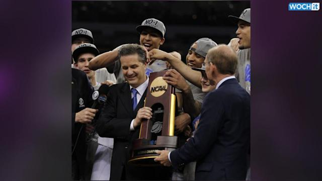 Kentucky Coach John Calipari Has $375,00 On The Line In NCAA Title Game