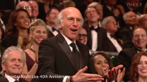 Larry David returns to celebrate SNL after quitting 30 years ago