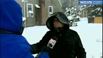 Residents shovel out in Foxborough