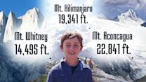 9-Year-Old Climbs Some of the Tallest Mountains in the World for Charity