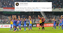 Viking Thunder Clap. Why? Twitter slams India for celebrations post Bangladesh draw
