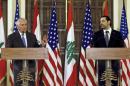 Tillerson in Beirut wades into Lebanon-Israel border dispute