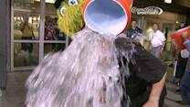 Harrelson accepts ALS challenge