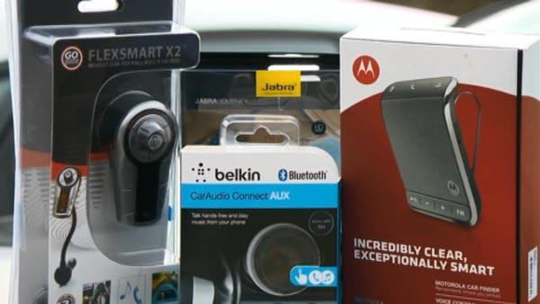 Bluetooth devices for cellphones put to the test