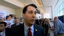 Scott Walker Defends His Comparison of ISIS to Wisconsin Protestors