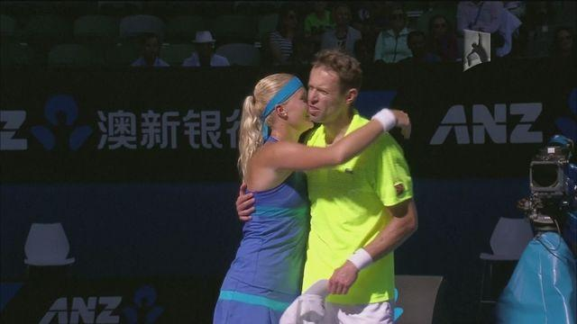 Nestor and Mladenovic clinch mixed doubles title
