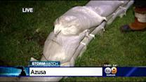 Azusa Residents On Alert As More Rain Brings Possibility Of Mudslides