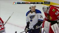 Oshie confusedly asks teammates if he scored