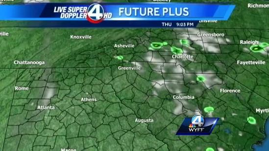 Dale's Thursday Forecast May 9, 2013
