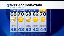 WBZ AccuWeather Evening Forecast For Sept. 15