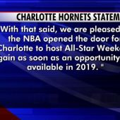 NBA Pulls 2017 All-Star Game From Charlotte Over Controversial House Bill 2
