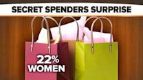 Are Men or Women More Likely to Hide Purchases?