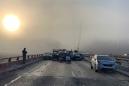 Thirty-five people injured in 63-vehicle pileup on Virginia highway